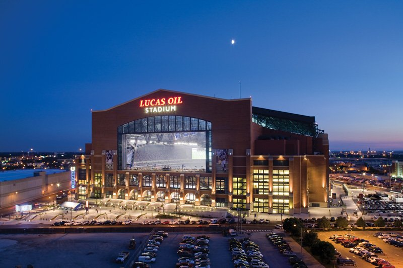 Lucas Oil Stadium : Indianapolis, IN