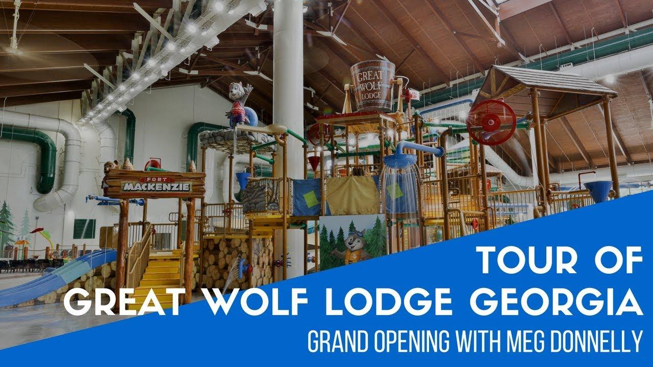 Great Wolf Lodge LaGrange Grand Opening