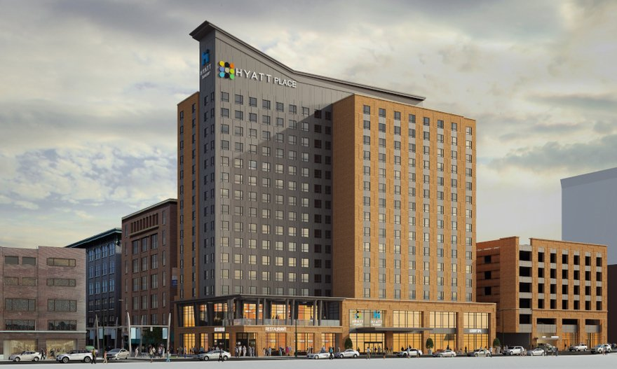 Hyatt Place Hyatt House Indianapolis Opens