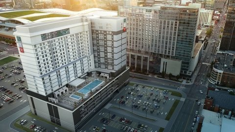 Marriott's First Built Tri-Brand Hotel Opens